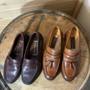 Johnston and Murphy bundle men's loafers size 8M